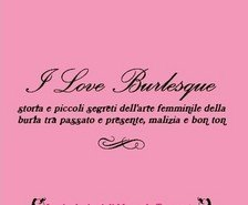 I Love Burlesque