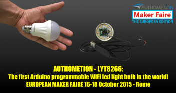 LYT8266: lampadina WiFi