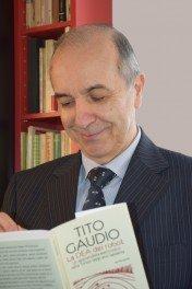 """Tito Gaudio, autore del libro """"La dea dei robot"""""""