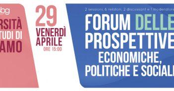 A Bergamo il Forum delle Prospettive Economiche, Politiche, Sociali