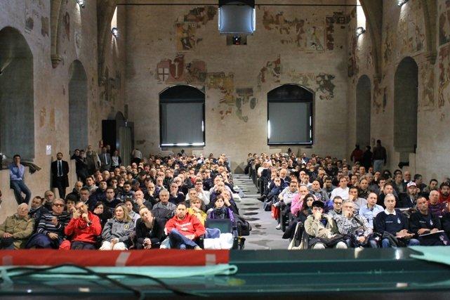 """Orvieto – Palazzo dei Congressi: la """"Sala dei 400"""" (foto d'archivio SNS)"""