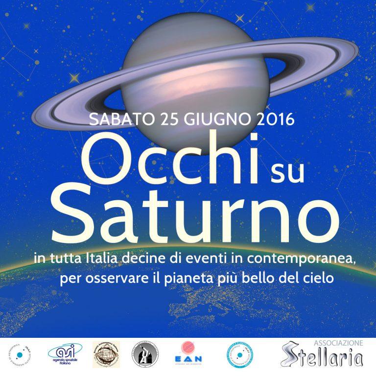 Occhi su Saturno 25 giugno 2016