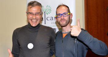 dott. Gianfranco Buccheri e Leonardo Cenci