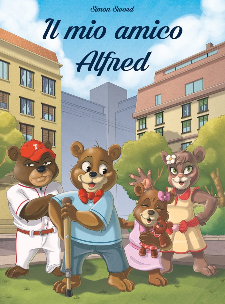 Il mio amico Alfred, copertina del libro