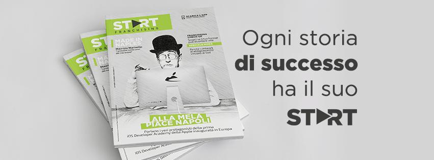Start franchising, rivista, magazine