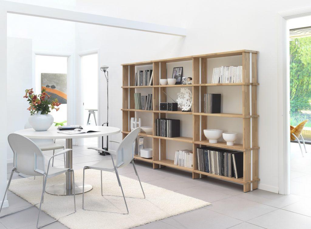 Nasce nikka woody la prima rivoluzionaria libreria modulare
