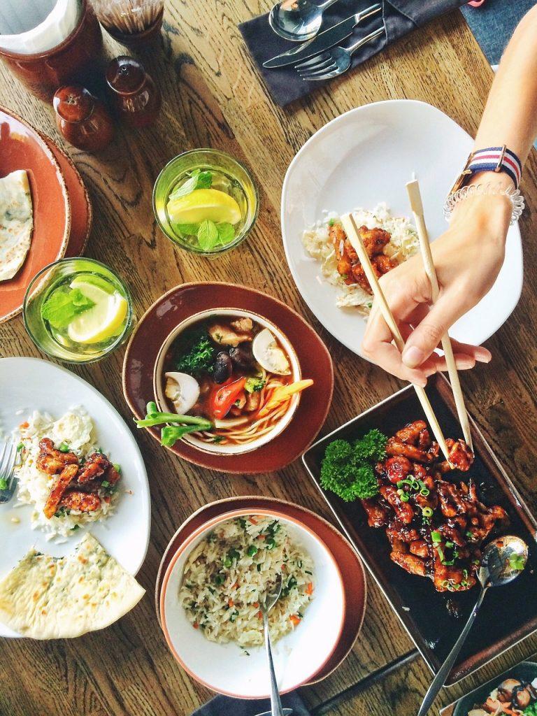 ristorante, piatti