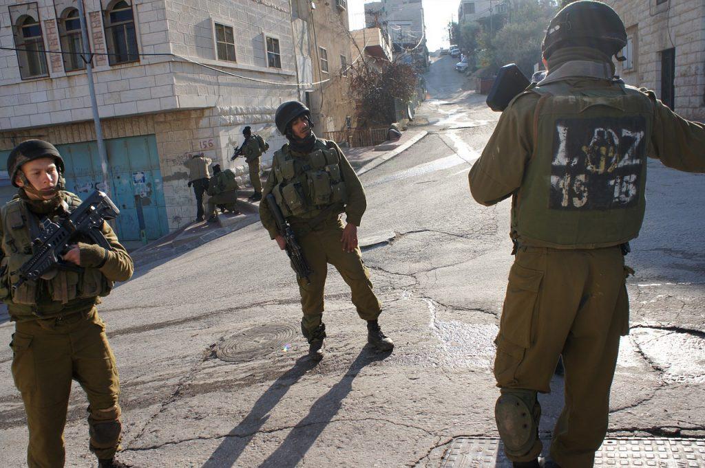 Israele Palestina, soldati, guerra