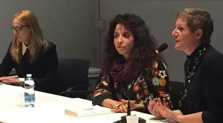 La poetessa Hebe Munoz e la scrittrice Annalisa Strada