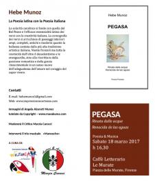 Hebe Munoz a Firenze con Pegasa
