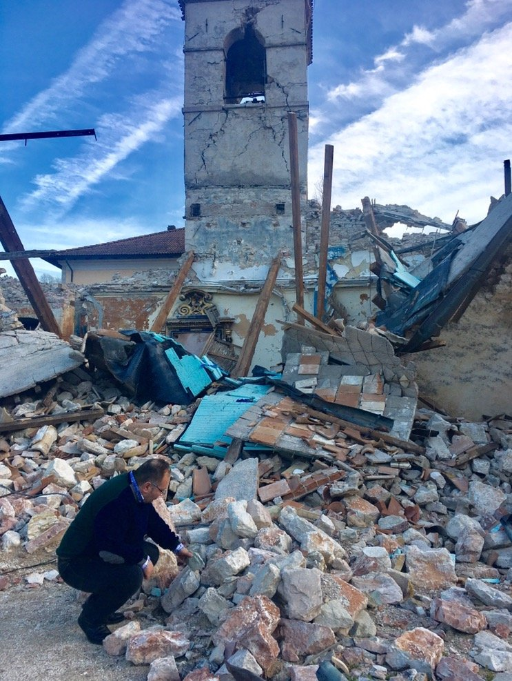 terremoto troppe macerie
