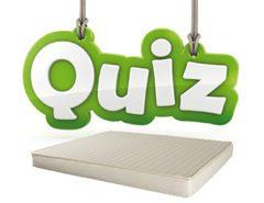 Quiz dei materassi