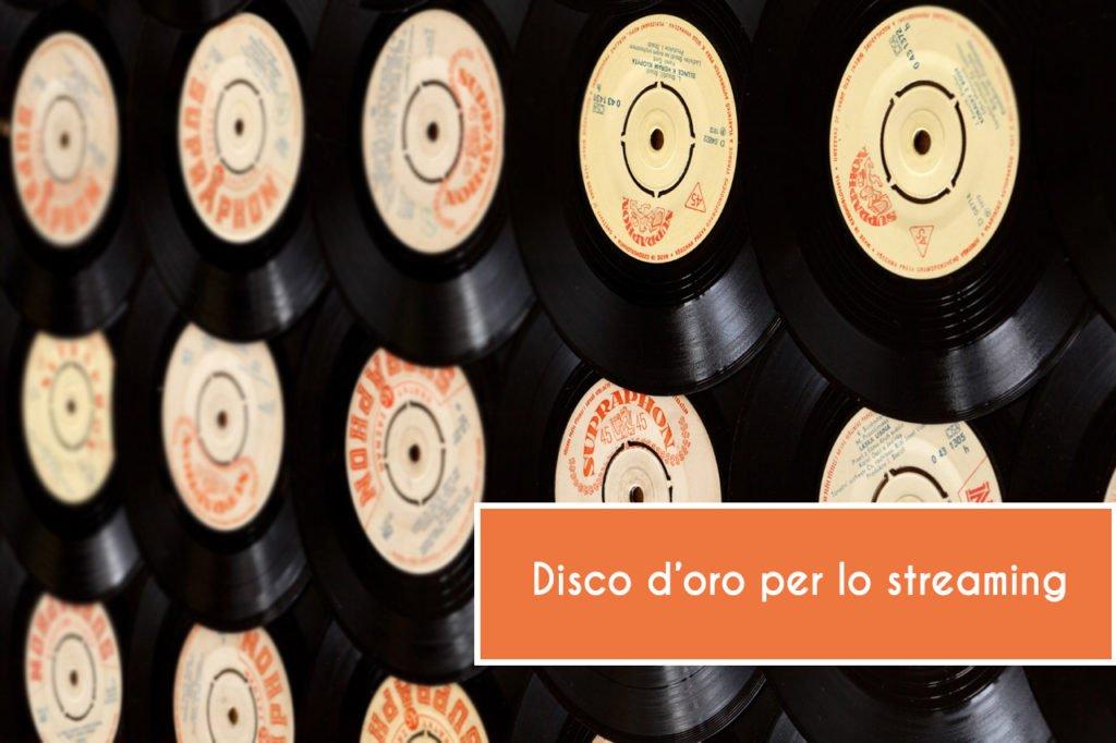 Vincita Disco d'Oro in streaming: anche con Play comprati su Spotify?