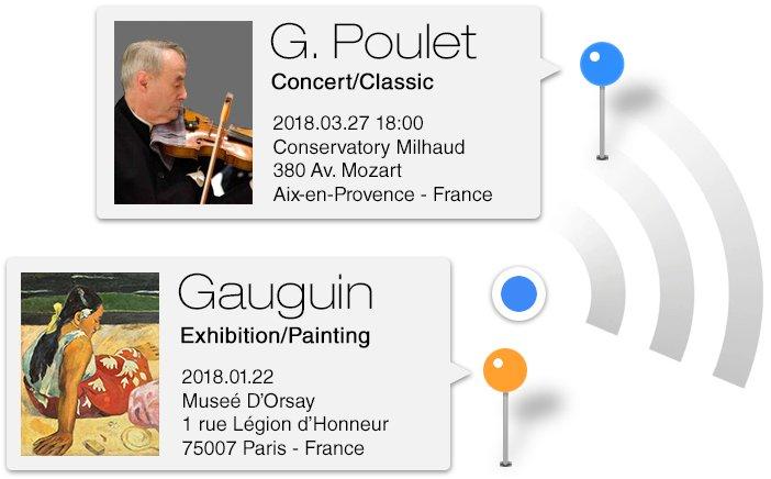 YouLudi app trova gli eventi culturali di tuo interesse intorno a te