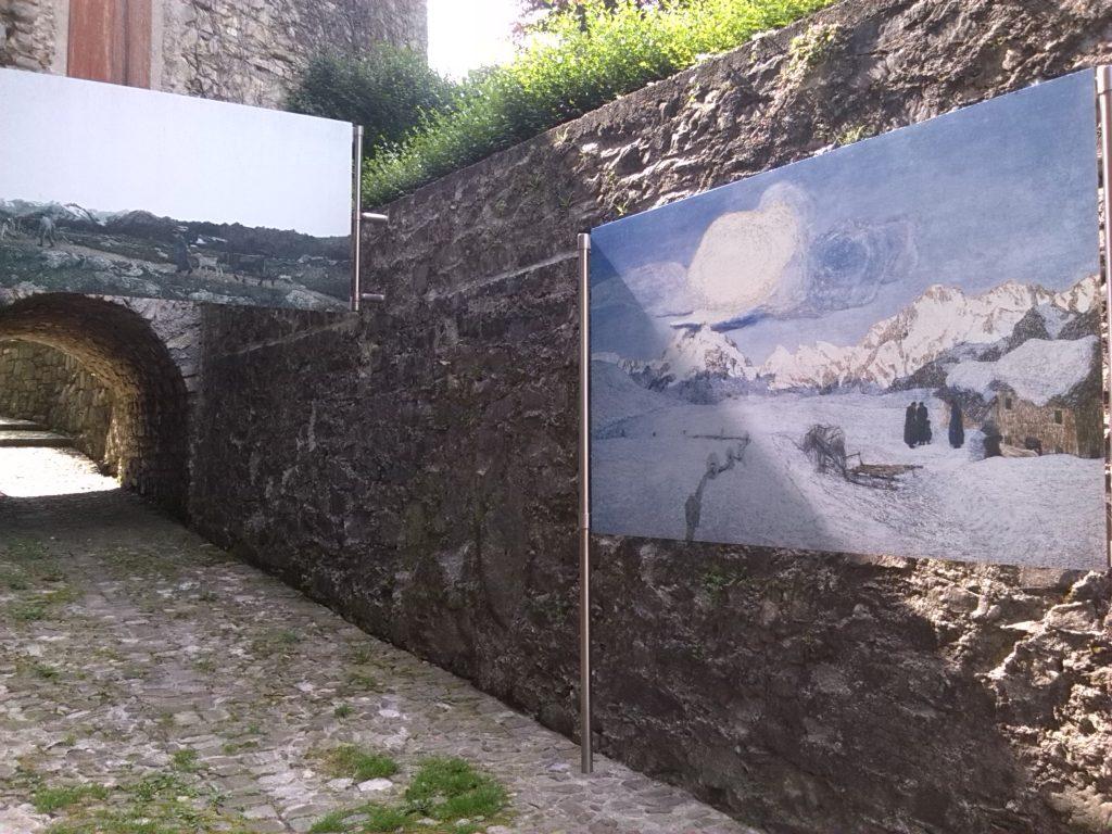 Caglio (Como), Percorso Segantini