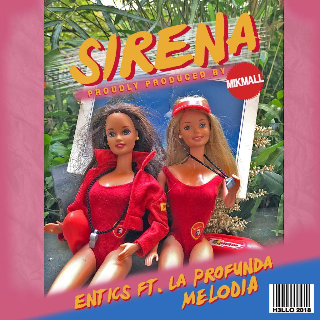 Sirena, il nuovo singolo di Entics disponibile su Spotify, iTunes e in tutti i digital store dall' 8 giugno 2018