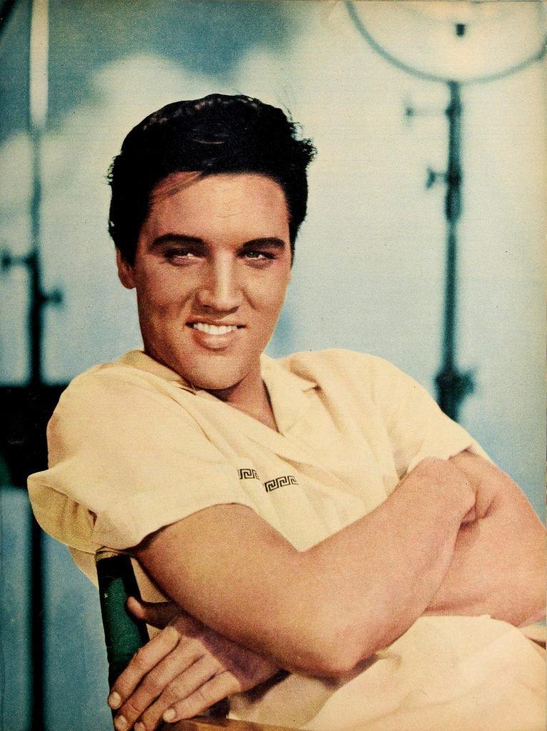 Elvis Presley, tra i 36 artisti ritratti nel libro