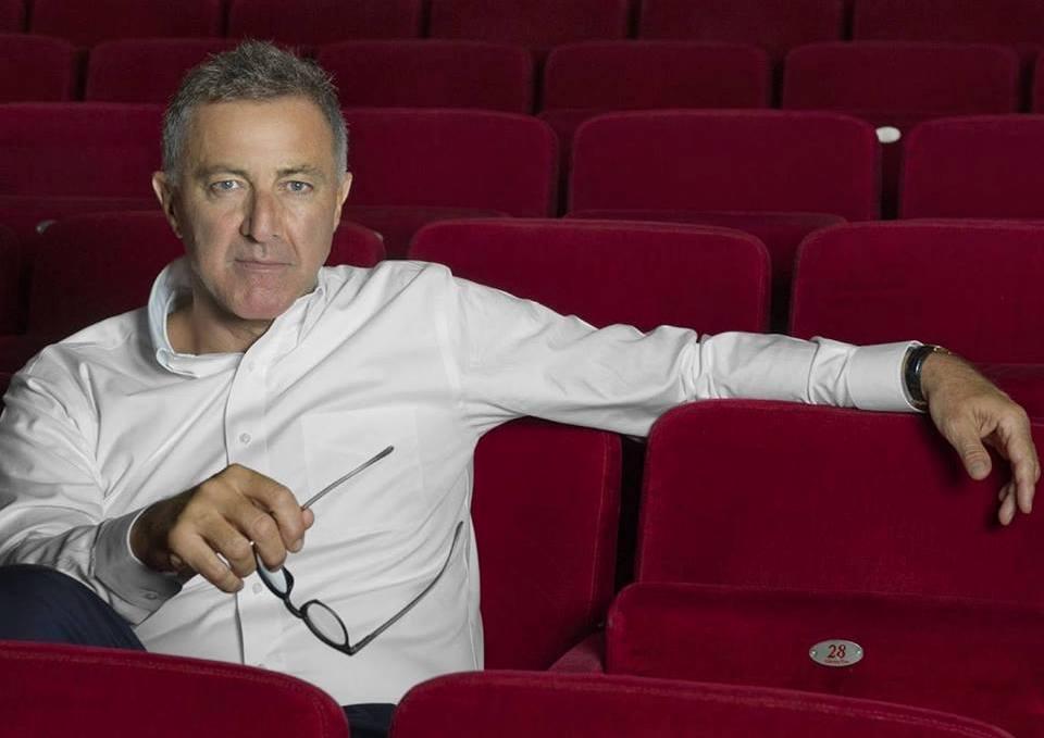 Il Direttore del Teatro Eliseo Luca Barabreschi