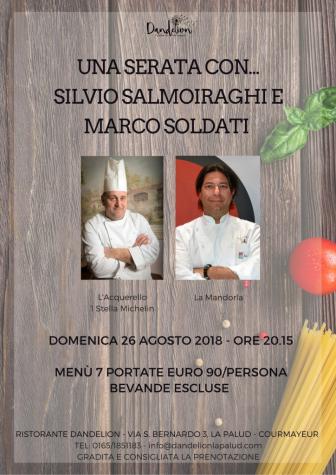 """A Courmayeur le eccellenze della cucina italiana: quinto appuntamento per """"Una serata con…"""""""