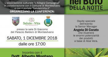 SaluteInVita.it Convegno a Montesilvano 01 dicembre. I Nemici Della Salute Nel Buio Della Notte.