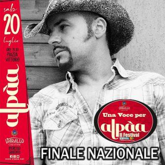 Festival Alpàa, il 20 luglio la finale a Varallo Sesia