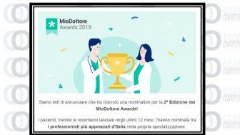 Salute: concluso il Mio Dottore Awards 2019. Nel Lazio il maggior numero di nominati