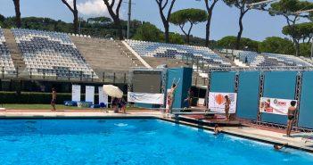 tuffi al foro italico Roma Junior Diving Cup