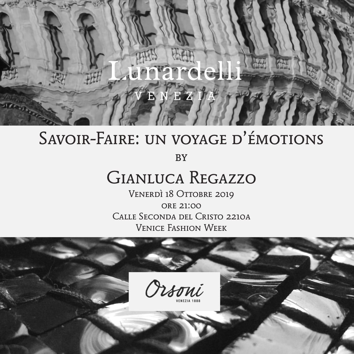 """Flyer """"Savoir-Faire: un voyage d'émotions"""""""