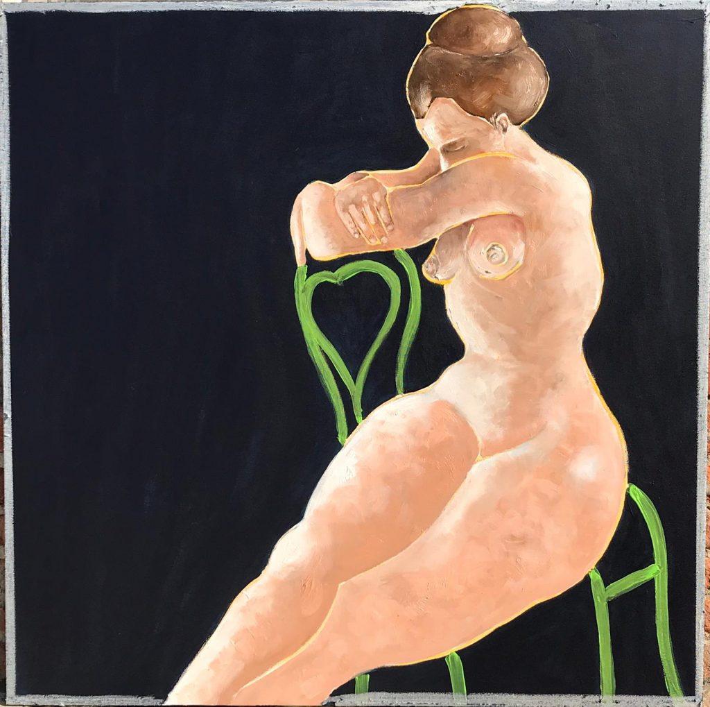 """""""Gazebo"""", una delle sei opere in mostra"""