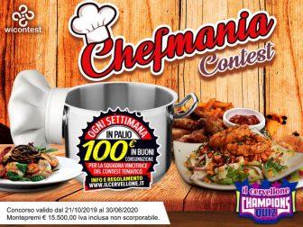 Chef Mania Contest, al via il nuovo quiz a tema cucina