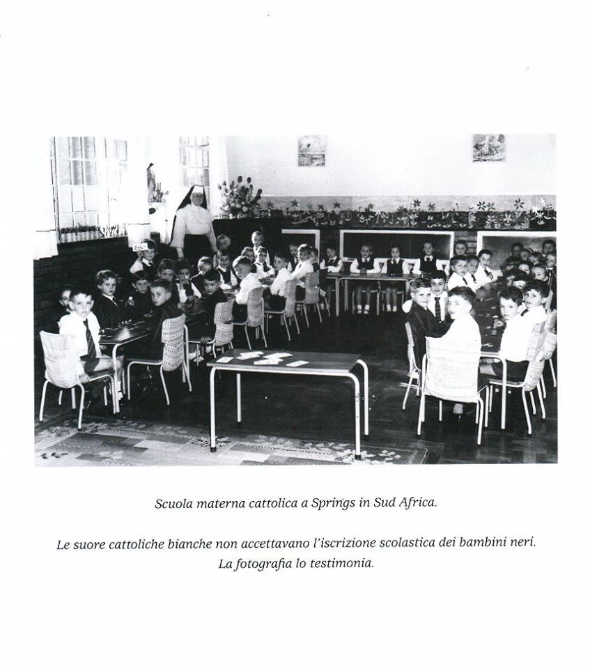 Il Vaticano razzista in Sud Africa: le prove fotografiche dell'Apartheid della Chiesa Cattolica
