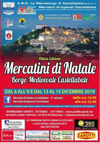 A Castellabate arrivano i Mercatini di Natale