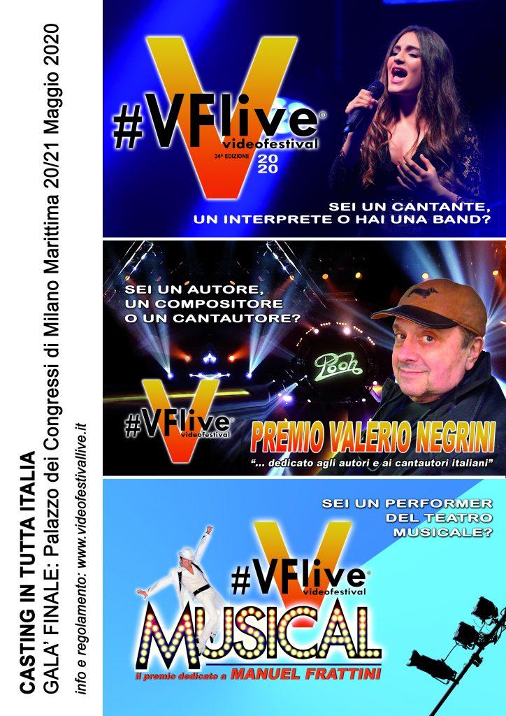 Videofestival live, aperte le iscrizioni per la 24a edizione