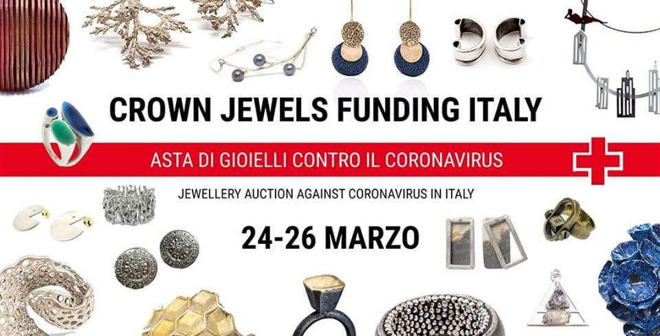 """Beneficenza Coronavirus: parte l'asta di gioielli per la Croce Rossa """"Crown Jewels Funding Italy"""""""