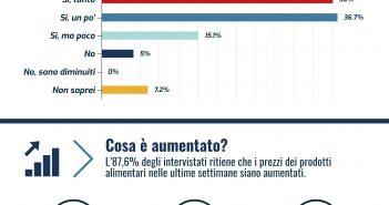 Coronavirus: l'aumento dei prezzi durante il Lockdown in Italia