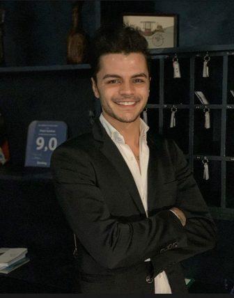 È Haris Bozhnjaku, il più giovane albergatore d'Italia: un vulcano di idee ed iniziative