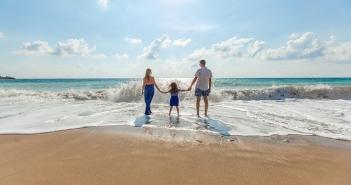 vacanza, famiglia, mare, turismo, familiari, famiglie, genitori, figli, coppie