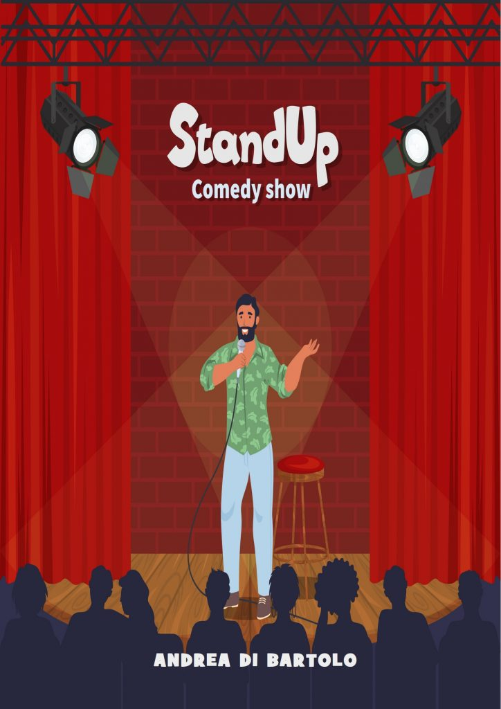 """Dimenticare la pandemia: l'obiettivo del libro umoristico """"Stand Up – Comedy Show"""""""