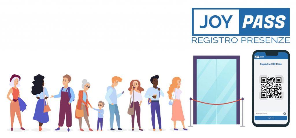 Covid e obbligo di registro presenze: nasce l'App JoyPASS